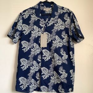 Zara Man NWT relaxed fit Large button up shirt